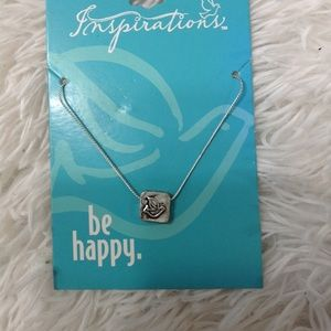 "BRAND NEW necklace ""Happy"""